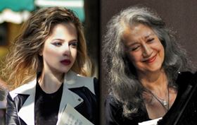 Martha Argerich and Theodosia Ntokou