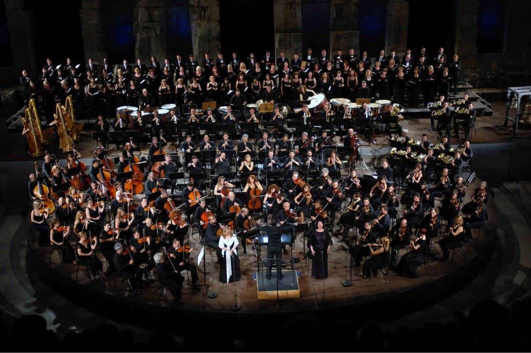 Concert at the Athens Festival