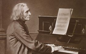 Works by Liszt and Bruckner